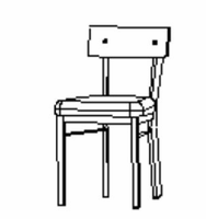 Amisco 30293 Lauren chair