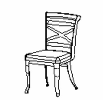 Amisco 30502 Historian chair
