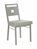 Amisco 30505 Jackson Chair with Stainless Steel Backrest