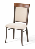 Amisco 35210 Eleanor Chair with Wood Backrest