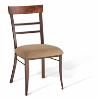 Amisco 35212 Cate Chair with Wood Backrest