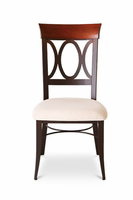 Amisco 35217 Cindy Chair with Wood Backrest