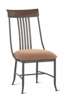 Amisco 35226 Kevin Chair with Wood Backrest