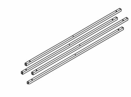 Amisco Crossbars Kit