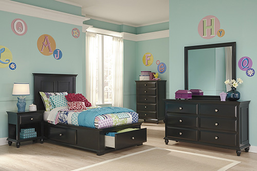 ashley b580 31 36 50 53 83s owingsville twin panel bedroom set