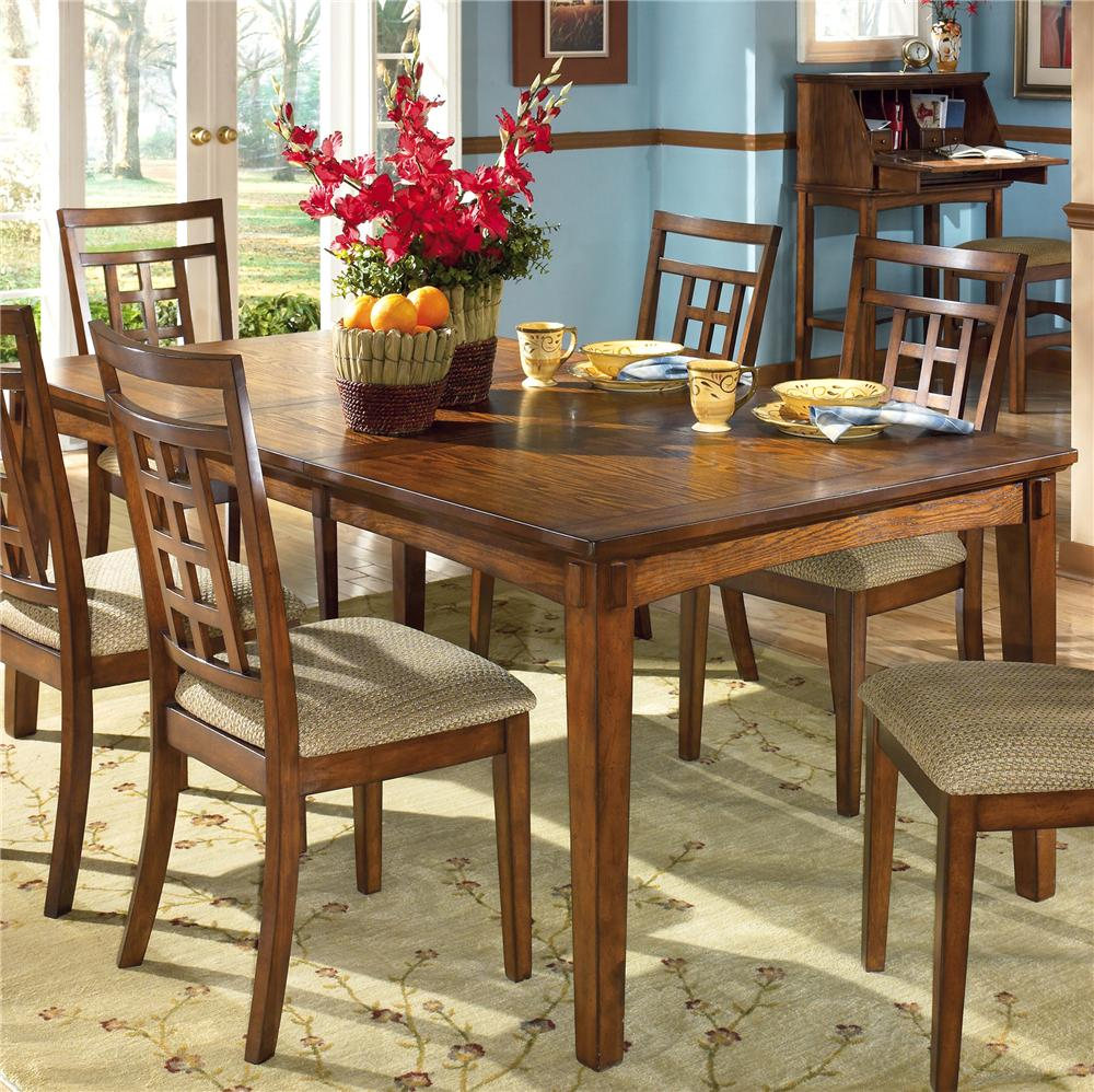 Normal dining room - Ashley Furniture Alyssa 5 Piece Round Dining