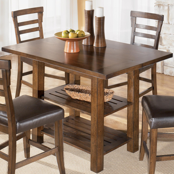 ashley d544 32 pinderton square dining room counter extension table