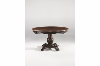 Ashley D553 50T North Shore Round Dining Room Pedestal
