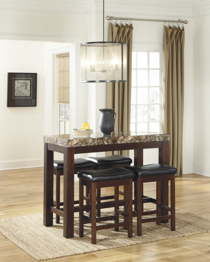 Ashley D567 13 Kraleene Rectangular Dining Room Counter Table