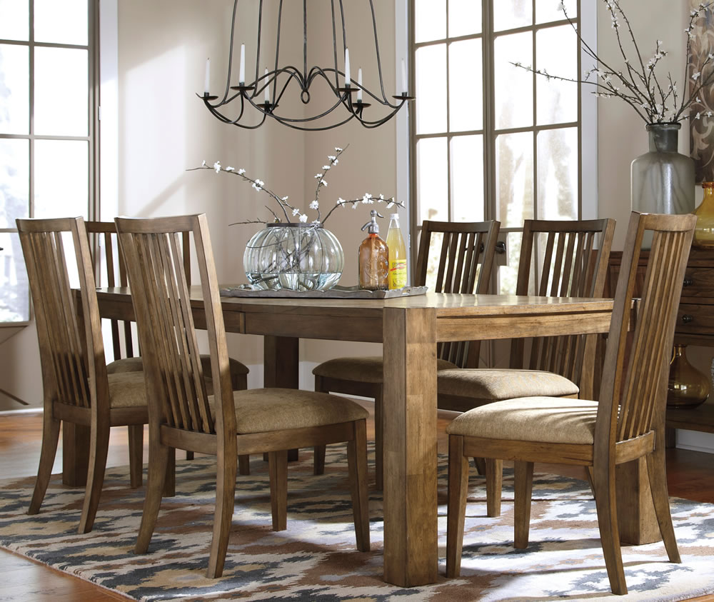 Ashley Furniture Dining Room Table: Dining Room Set Likewise Ashley Cross Island 5 Piece