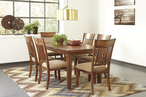 ashley d586 25 shallibay rectangular dining room table