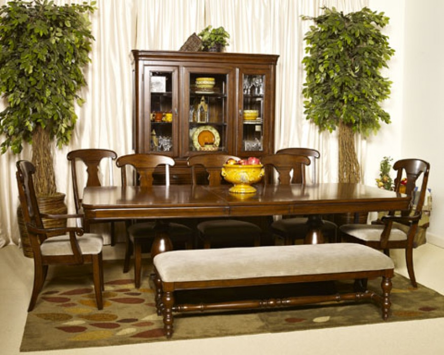 Pedestal Dining Room Table Sets