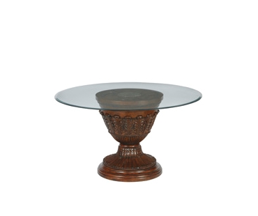ASHLEY Express Casual Dining Ashley Round DRM Pedestal Table