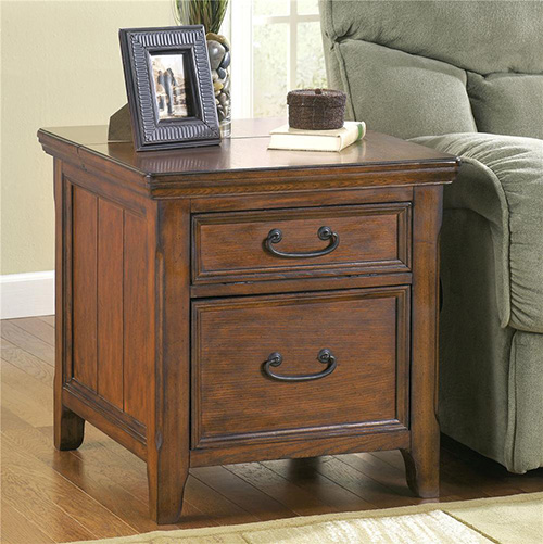 Ashley Furniture Woodboro End Table 500 x 501