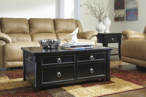 Ashley T811 20 Greensburg Lift Top Cocktail Table