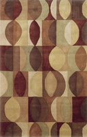 Barclay - Multi Contemporary Rug 60x93