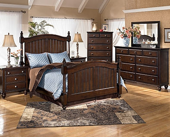 home camdyn cottage poster bedroom set