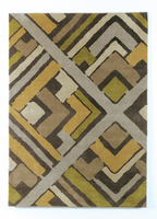 Casbah - Citrus Contemporary Medium Rug