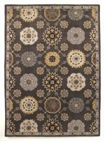 Charlemagne - Charcoal Contemporary Medium Rug