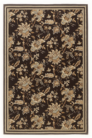 Charlotte -  Brown/Blue Traditional Classics Medium Rug
