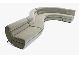 Cirrus - Sectional Fabric Sofa