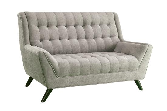 COASTER 503771 DOVE GREY FABRIC SOFA