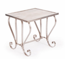 Deco Scrolled Side Table