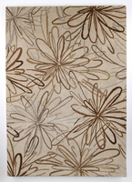 Delilah - Neutral Contemporary Medium Rug