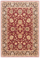 Dorchester - Red Traditional Classics Red/Gold/Green Rug