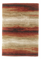 Emerge - Berry Contemporary Medium Rug