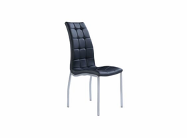 Global Furniture Black / Chrome Dining Chair