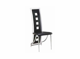 Global Furniture Black / Silver Dining Chair