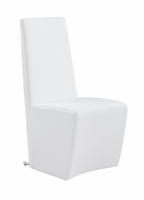 Global Furniture D105DC-WH White Dining Chair