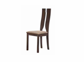 Global Furniture D2407DC Dark Walnut Dining Chair