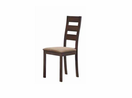 Global Furniture D2443DC Dark Walnut 5-Piece Dining Chair