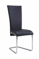 Global Furniture D457DC-BL Black Dining Chair