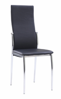Global Furniture D475DC-BL Black Dining Chair