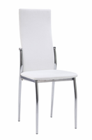 Global Furniture D475DC-WH White Dining Chair
