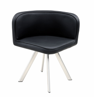Global Furniture D536DC-BL Black Dining Chair