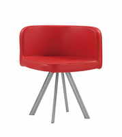 Global Furniture D536DC-R Red Dining Chair