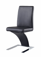 Global Furniture D88DC-BL Black Dining Chair