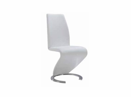 Global Furniture D9002DC White Dining Chair