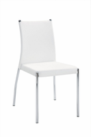 Global Furniture DB841DC-WH Casual White Dining Chair