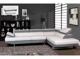 Global Furniture Leather  Sectional Sofas