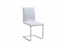 Global Furniture Sonoma Paper / White PU Dining Chair