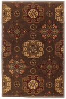 Haldora - Brown Traditional Classics Multi Color Rug