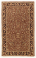 Hensley - Rust Traditional Classics Rust/Brown/Tan Medium Rug