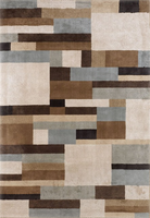 Intersection - Surf Contemporary Rug