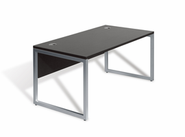 Jesper Office 9803 Large Desk with Modesty Panel