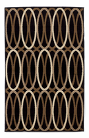 Kyle - Clay Contemporary Black/Brown Rug